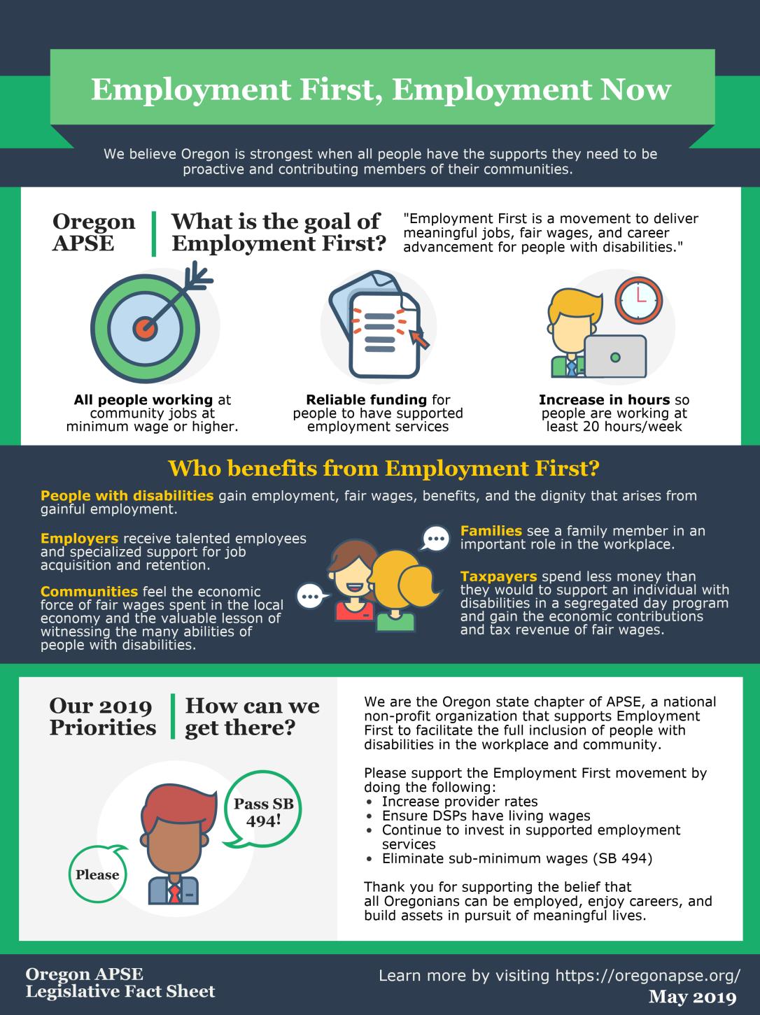 2019 OR APSE Fact Sheet