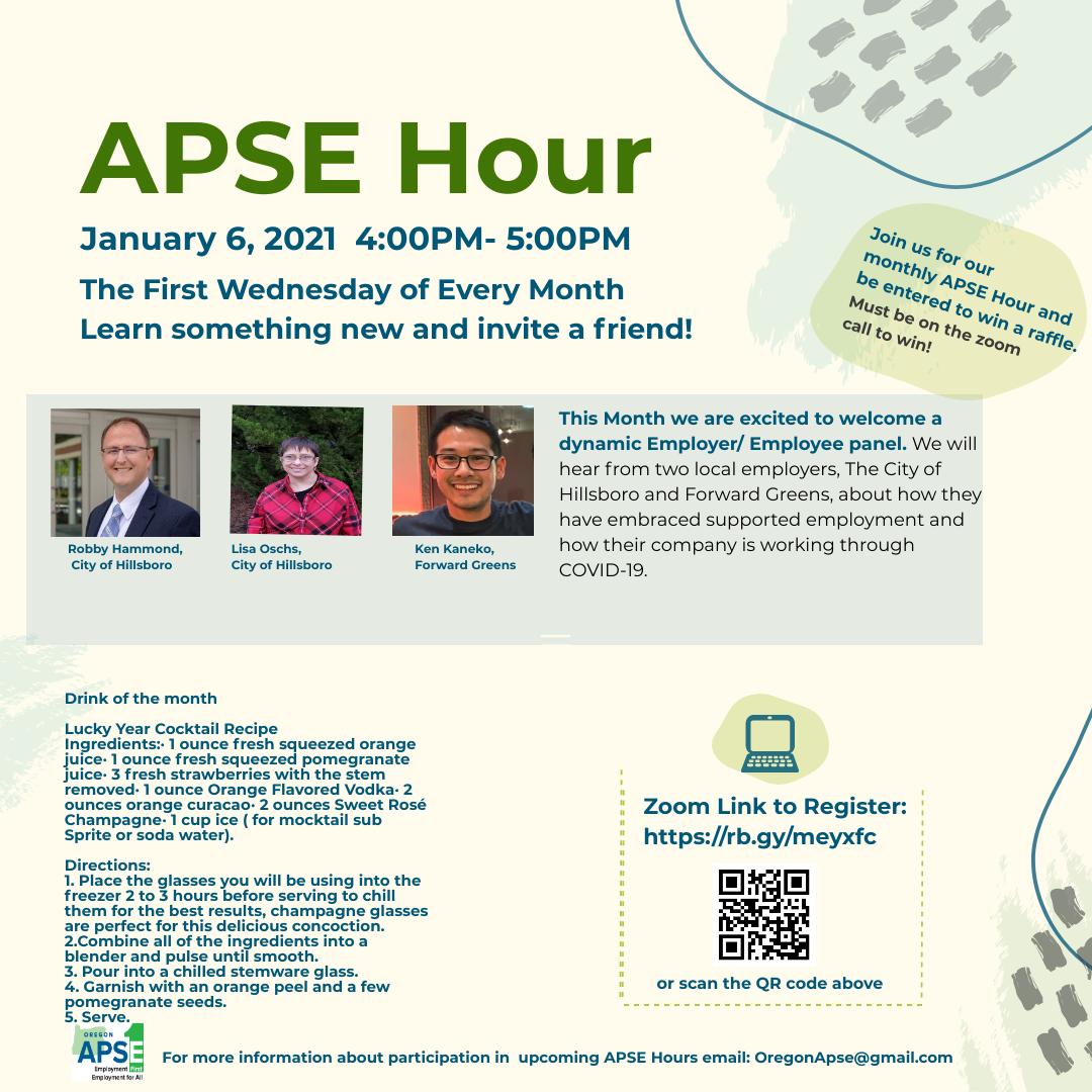 APSE Hour Jan-Feb