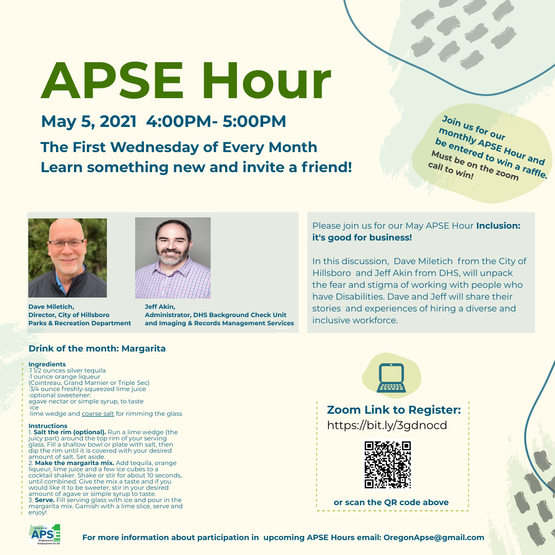 APSE HOUR MAY invite